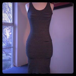 American Apparel Spandex Scoop Back Dress